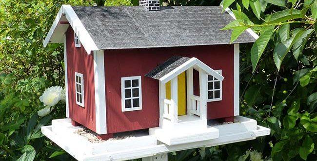 Vogelfutterhaus-Vogelvilla